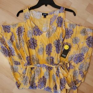 a.n.a. Womens Floral Dress size M *new*